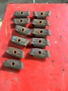 Farmhand Wheel Rake Teeth Mounting Clips Qty 11
