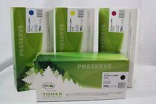 Laserjet Toner Cartridge Lot of 4 Black Cyan Yellow Magenta for HP Color LJM451