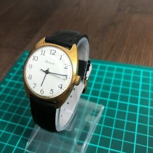Soviet Ussr Raketa watch mens mechanical 2609 ha russian rare wristwatch jewels