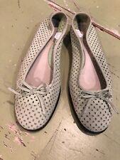 Aerosoles Pale Green Leather Ballet Flats Size 6M