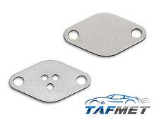 05+09. EGR blanking plates for Opel Vauxhall Saab Fiat Alfa 1.9 2.4 JTD CDTI TiD