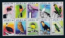 [AR486] Aruba 2010 Birds Vögel Oiseaux MNH
