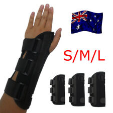 Wrist Splint Brace Protection Support Strap Carpel Tunnel CTS RSI Pain Relief OZ