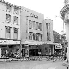 "Folkestone Odeon Sandgate Road April 1962 ~ Finest Qualtiy 12""x12"" Photograph"