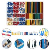 678 PCS Car Electrical Wire Terminals Insulated Crimp Connectors Spade Set Kits