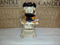 Yankee Candle Boney Bunch Baby High Chair Boo Halloween Tea Light Holder NEW
