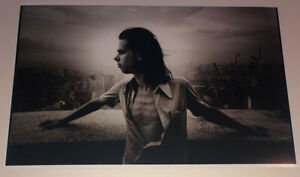 SIGNED NICK CAVE 12x8 PHOTO RARE AUTHENTIC LET LOVE IN THE BAD SEEDS