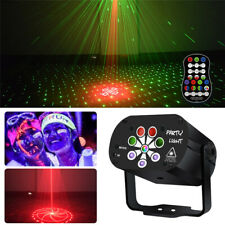 120 Patterns Laser Stage Lighting RGB LED USB Projector Light Party Disco Lamps