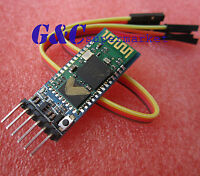 1PC SWireless Serial 6 Pin Bluetooth RF Transceiver Module HC05 RS232+ Cable M42