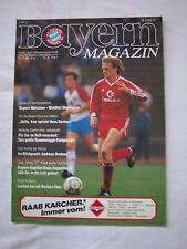 Orig.PRG   1.Bundesliga  1987/88   FC BAYERN MÜNCHEN - WALDHOF MANNHEIM ! SELTEN