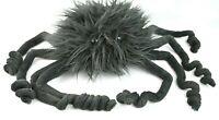 "RARE Jellycat Spout Spider Large Plush Black Fuzzy Nursery Toy 10"" x 22"""