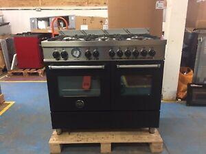 Bertazzoni MAS100-6-MFE-D-NEE,100cm Double Oven Dual Fuel Range RRP £2,000 ++
