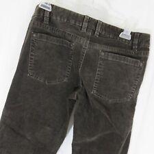 J Crew Favorite Fit 4P Dark Brown Stretch Corduroy Jeans 5 Pocket