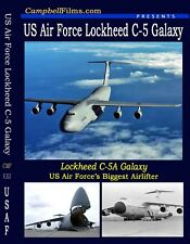 US Air Force Lockheed C-5 Galaxy America's largest Cargo Aircraft