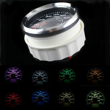 Motorcycle Car 85mm GPS Speedometer Odometer Speed Gauge Meter 8 Color Backlight