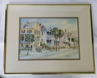 Limited Edition Framed Lithograph Print Numbered Signed Ed Emerson Charleston SC