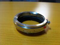 "Leitz Wetzlar 16469Y - Leica M Macro Adapter ""OUFRO"" chrom - Guter Zustand !"
