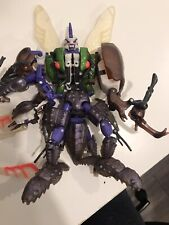 TRANSFORMERS BEAST WARS TRIPREDACUS Complete SEA CLAMP RAM HORN CICADACON