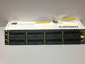Ortronics OR-838045326 48 Port 10/100 Patch Panel LOT OF 3 NEW OPEN BOX