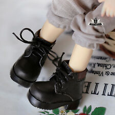 1/6 BJD Shoes Yosd Lolita black Boots Dollfie Luts Dollmore AOD DOD SOOM DIM DZ