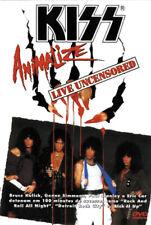 KISS VIDEO -DVD - ANIMALIZE LIVE UNCENSORED - ZONE 1 - BRAZIL 2001 - V622110