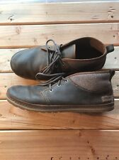 Mens Teva Brown Leather Casual Shoes Size US 10 UK 9 EU 43