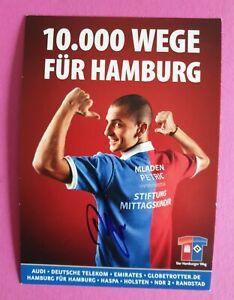HSV, 1 Stück Sonderkarte, Mladen Petric, 2010/11 Hamburger SV, signiert