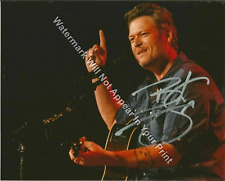 Blake Shelton 2 Signed Reprint Country Music CMA Matted/Unmatted Photo