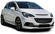 FRONT GRILL BLACK FOR VAUXHALL CORSA E 2014 NO EMBLEM SPOILER NEW