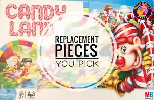Candy Land Replacement Pieces 2005 Game You Choose Individual Parts Cards, Men +