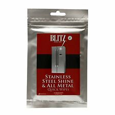 Blitz Stainless Steel Shine & All Metal Quick Wipes - 30ct