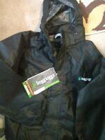 FROGG TOGGS All Sport Jacket-Pants Combo Rain Suit (Black)