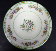 Coxon Belleek China Saucer from Wanamakers Department Store White Floral