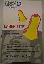 1000 Stück Gehörschutzstöpsel LaserLite EN 352-2 in gelb/rot 1707-100