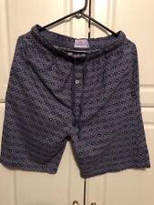 Dockers Men's Shorts w/elastic waist, gray print, size M, 100% cotton
