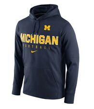 Michigan Wolverines Nike Therma-Fit NCAA Circuit Performance XXL Hoodie $70