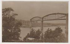 Cornwall postcard - Saltash Bridge - RP