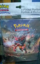 Pokemon Sun & Moon 4 Tasche Per Pagina Cartella Album Raccoglitore Porta Carta