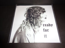"Taylor Swift ""Ready For It"" 2018 PROMO CD SINGLE Universal Brazil BIG MACHINE"