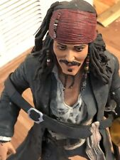 Disney Neca Pirates Of The Caribbean Capt Jack Sparrow 18? Talking Figure