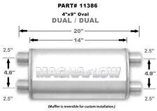"Magnaflow 11386 Stainless Steel 2.5"" Oval Muffler"