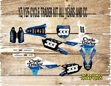 YAMAHA YZ YZF 85 125 250 450 MOTOCROSS FULL GRAPHICS KIT-DECALS-STICKERS-MX CYCL