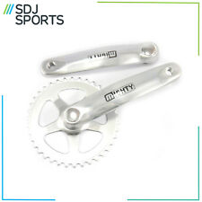 Contrast Alloy Single Speed 38T Chainring Crankset Square Taper Fit Crank