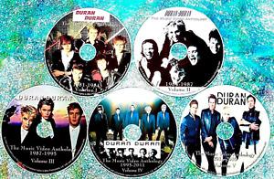 DURAN DURAN Music Video Anthology 1981 to 2021 5 DVD Set 112 Vids INVISIBLE 9 Hr