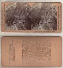 1901 Scarce Keystone Stereoview  BOX CANYON COLORADO