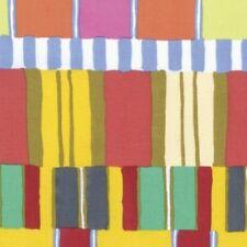Free Spirit Kaffe Fassett Artisan PWKF003.YELLO Yellow Layered Stripe COTTON BTY
