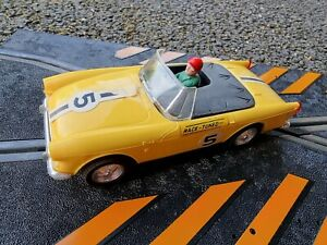 scalextric Triang Vintage Slot Car c83 sunbeam tiger race tuned!!
