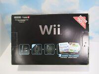 Nintendo Wii Console Sports Resort Bundle Motion Plus Controllers Complete CIB