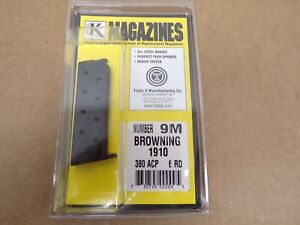Browning Model 1910 380 ACP Magazine by Triple K #9M