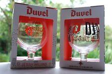 /♦Duvel SET 2 DUVEL FETES DE WALLONIE 2018/19 + Box Duvel glass limited edition♦